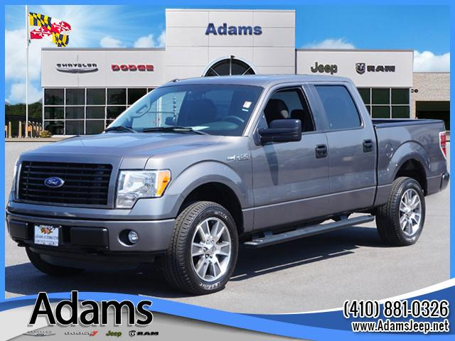 Pre owned 2014 ford f 150 stx 4d supercrew in annapolis c1387a pre owned 2014 ford f 150 stx sciox Images